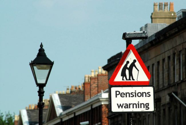 Which countries have the best pension provision for residents