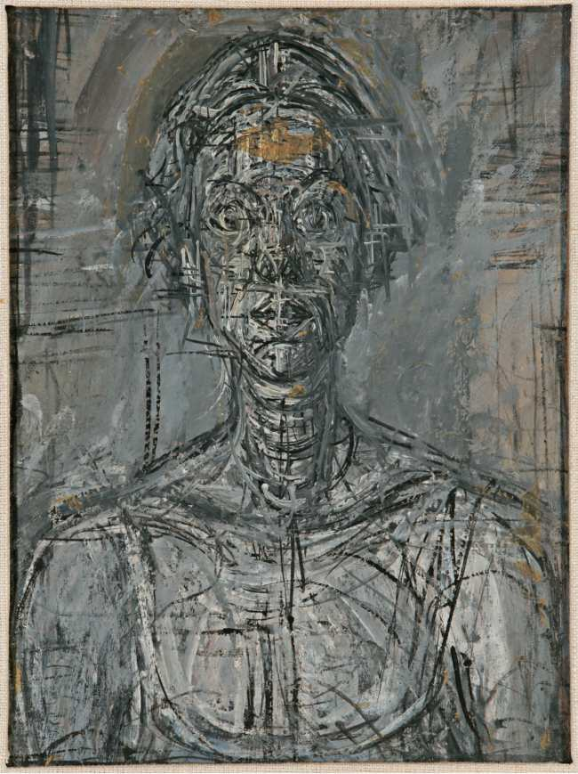 Bust of Annette by Alberto Giacometti 1954 Private Collection