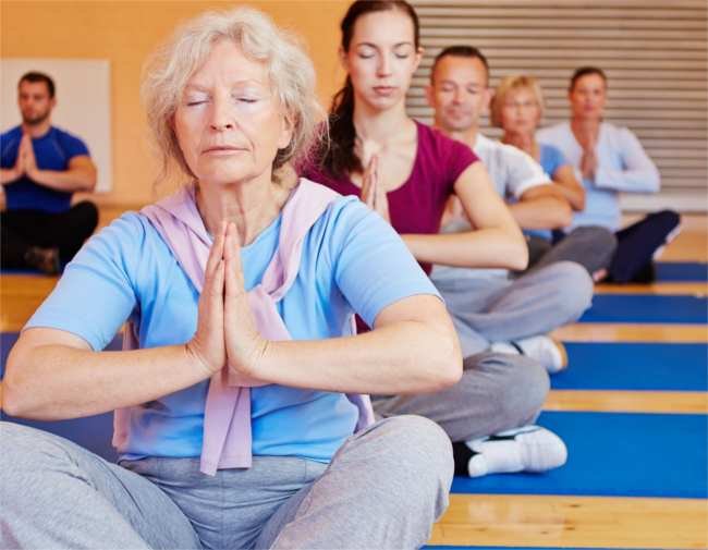 5 ways for older people to maintain a healthy mind and body