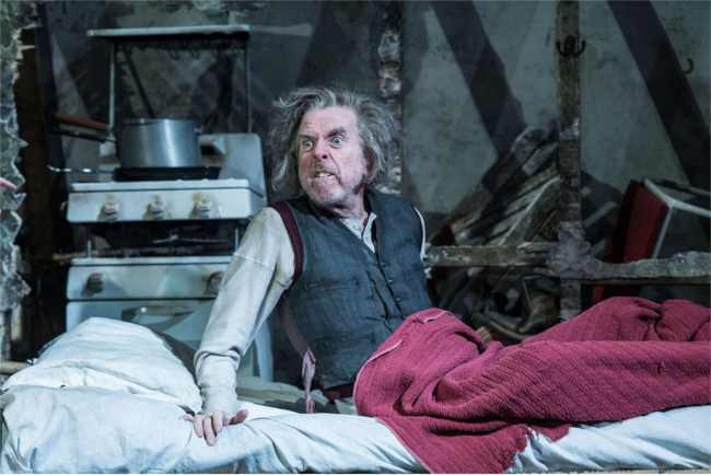 Timothy Spall in The Caretaker at the Old Vic Theatre