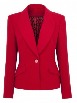 Twiggy Red Blazer