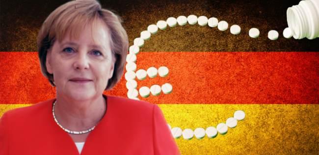 Angela Merkel EU debt crisis