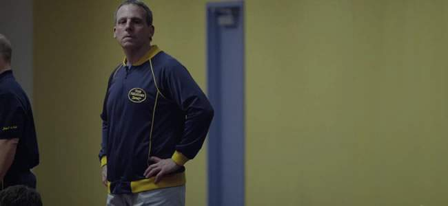 Steve Carrell in Foxcatcher