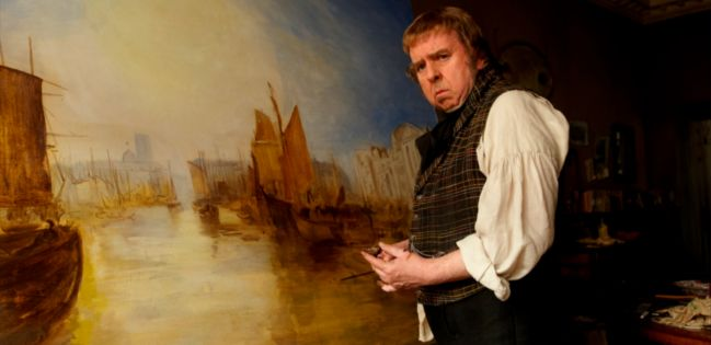 Timothy Spall as JMW Turner