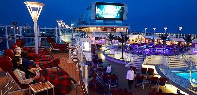 outdoor cinema regal princess