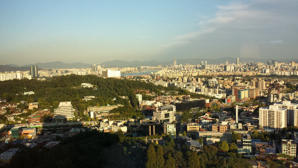 View from Grand Hyatt Hotel, Seoul
