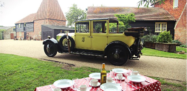 Darling Buds Farm - Yellow Rolls Royce