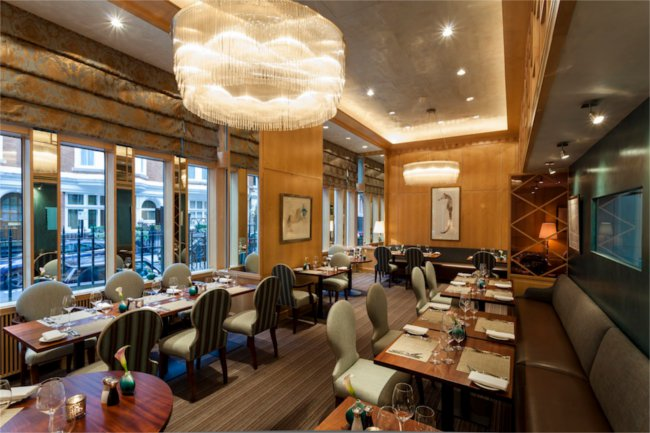 Nathan Outlaw's Michelin-starred dining room at The Capital