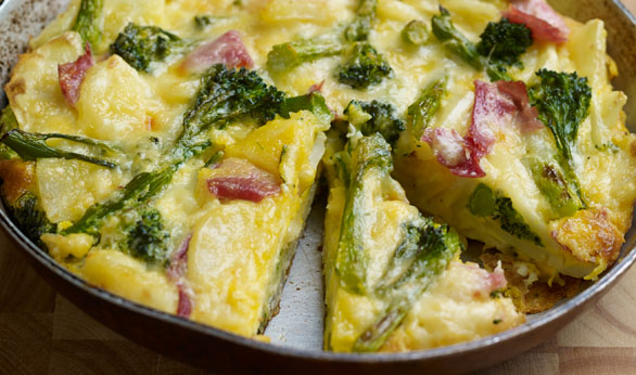 tenderstem broccoli frittata