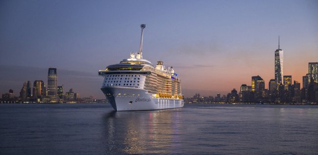 Quantum of the Seas New York arrival