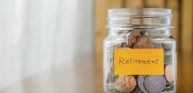 Saving for a pension