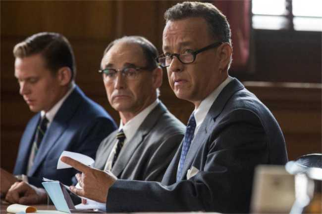 Tom Hanks and Mark Rylance in Bridge of Spies