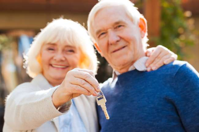 Britain's over 65s feel financially secure