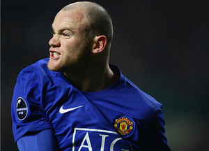 The face of modern football - Wayne Rooney in cordial aspect