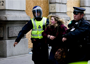 Police at last year's G20 protests - but how best to police them?