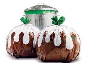 Pudding bin bags