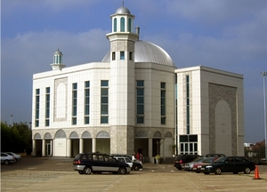 The Baitul Futuh mosque in London is a focus point for an increasingly embattled Ahmadi community