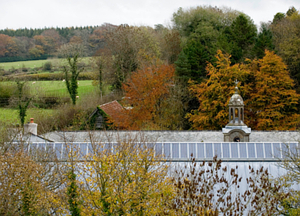 Arlington Court - now with added photovoltaic goodness