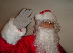 Santa shopaholic
