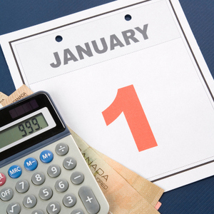 New years financial resolutions