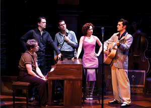 Rockabilly 'till you're silly in Million Dollar Quartet