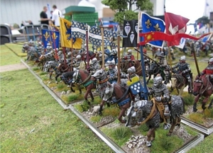 Once of Salute 2011's more magnificent sights, care of the Lance & Longbow Society