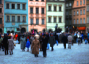 On the streets of Wroclaw and other Polish cities, the young are dwindling