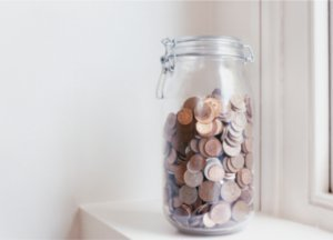 Money box savings