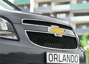 Chevrolet Orlando front grill