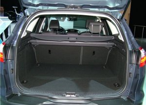 Ford Focus - generous boot