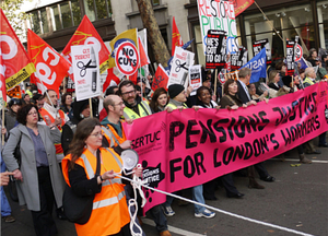 A victory of sorts, but what will the unions do next? Image c/o Alan Denney @ Flickr
