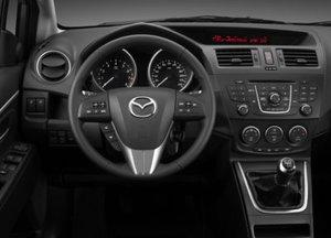 Mazda5 dashboard