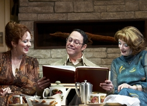 The Trauma That Came To Tea, in Alan Ayckbourn's 'Absent Friends'