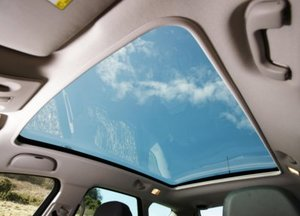 Vauxhall Meriva roof light