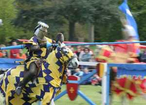 medieval joust