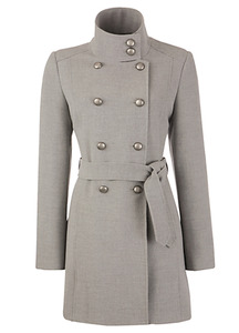 John Lewis Double Breasted Military Coat