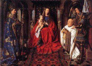 Madonna-with-Canon-van-der-Paele by Jan Van Eyke