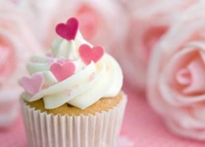 Valentine cup cake