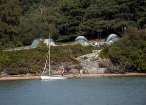 Brownsea camping©National Trust Images John Millar