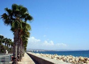 Larnaca coastline