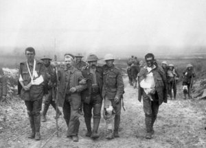 Walking wounded on Western Front
