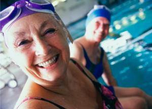 Healthy living older women