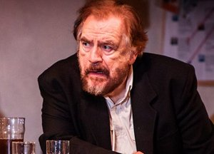 Brian Cox in The Weir at the Wyndhams Theatre