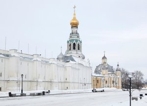 Vologda Kremlin in winter, Russia