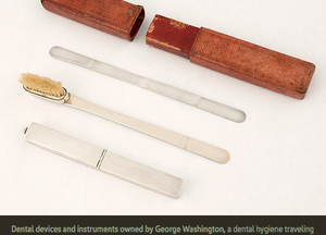 George Washington's toilet set