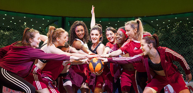 Bend It Like Beckham The Musical at the Phoenix Theatre