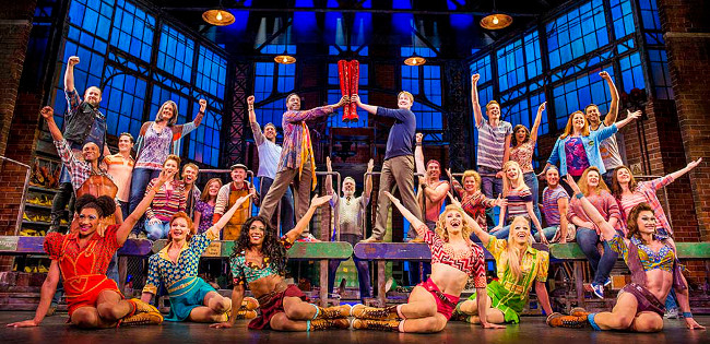 Kinky Boots, Photo by Matt Crockett