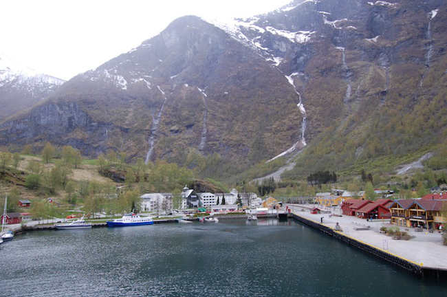 Norwegian fjord from MV Balmoral
