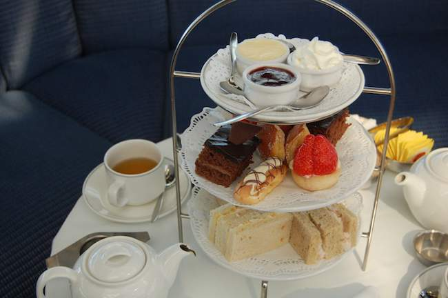 afternoon tea on Balmoral