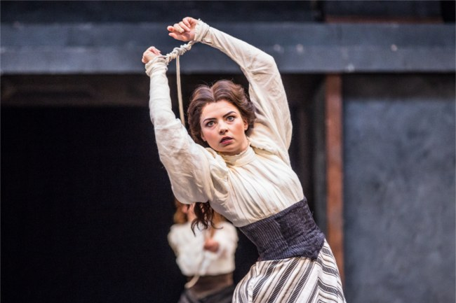 The Taming of the Shrew at the Globe Theatre